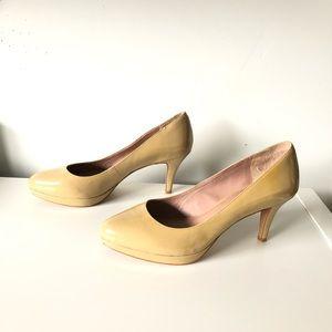 Vince Camuto nude Zella pump heels